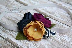 Braylinn Dainty Flower Headband