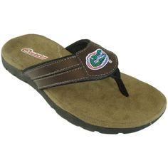 Florida Gators sandals for men! Check out more NCAA team styles at here! https://www.facebook.com/renimp1?ref=hl