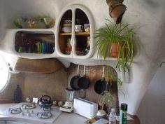 Bohemian Homes: Cob Kitchen