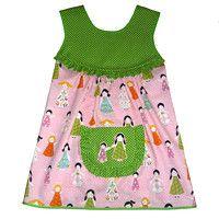 Zástěrka s holčičkami / Zboží prodejce CIRO design Summer Dresses, Sewing, Tops, Women, Fashion, Moda, Dressmaking, Summer Sundresses, Couture