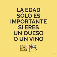 La edad sólo es importante. #humor #risa #graciosas #chistosas #divertidas