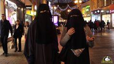 Non Muslim Women Try On Hijab Niqab