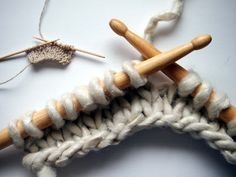 Toothpick and Drumstick Knitting