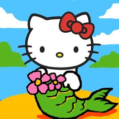 Reveal The True Hello Kitty - Hello Kitty is NOT a cat - she's a Mermaid!