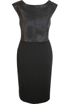 Bruno Banani little black PU dress