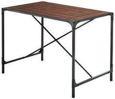 $169  Industrial Empire Pub Table - Pub Tables - Home Bar - Furniture | HomeDecorators.com  SB