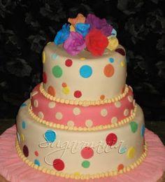 Sugarmania - Decoracion de Tortas: Tutorial:  Como lograr colores en el fondant o pas...