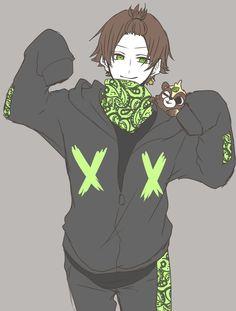 Anime Triste, Handsome Anime, Cute Anime Boy, Manga, Beautiful Person, Hatsune Miku, Cute Designs, Hetalia, Cute Boys