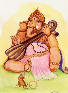 Lord Ganesha - sitar