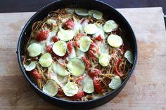 Vollkorn-Spaghetti-Kuchen