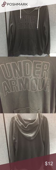 Grey Under Armour Hoodie Grey Under Armour Hoodie Under Armour Jackets & Coats