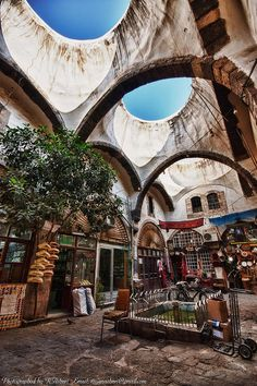 Traditional shops - Old Damascus. by R.Azhari, via Flickr