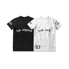 The NY & LA T, Available 8.19.14 @12am PST alongside a selection of our new Fall pieces.