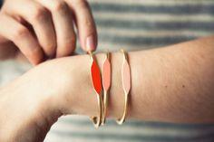 color-spectrum I.D. bracelets from Garnett Jewelry