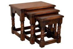 Nesting Tables, C. 1900,    S/3