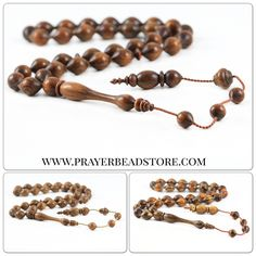Collectible & handcrafted wooden prayer beads collection #prayerbeads #tasbih #worrybeads