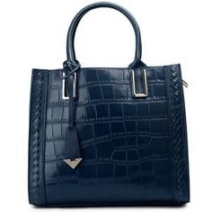 Alligator Leather Single Strap Tote Bag