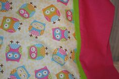 Owls  Pillowcase by Americarican1 on Etsy, $11.00