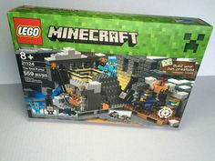 Lego Minecraft 21124 The End Portal 559 Pieces 2016 Steve 2 Enderman Cave Spider #LEGO
