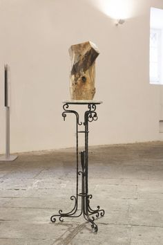 Jimmie Durham at Fondazione Morra Greco #art #contemporaryart