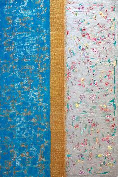 "Abstract-Hong Kong  by Anyes Galleani. Mixed media on wood panel, 40x60"", $3600. Abstract-Hong Kong"
