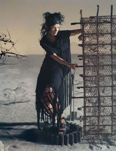 Vogue Italia March 2014 Model: Mariacarla Boscono Photographer: Tim Walker