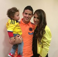 pictures of James Rodriguez wife Daniela Ospina
