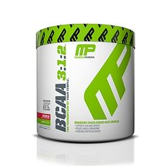 BRANCHED CHAIN AMINO ACID COMPLEX<ul><li>SUPPORTS LEAN MASS GROWTH</li><li>REDUCES MUSCLE BREAKDOWN</li><li>INCREASES PROTEIN SYNTHESIS</li></ul><b>DEMAND MORE OF YOUR BODY AND YOUR BCAA.</b><br>MusclePharm® BCAA 3:1:2™ offers a uniquepatent-pending ratio—3 Leucine, 1 Isoleucine, 2 Valine—that is specifically tuned to deliverthe ideal amounts of these three amino acids during all phases of muscle development and maintenance. Through this formulation, amino acids are release...