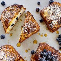 Blueberry Cheesecake Stuffed French Toast