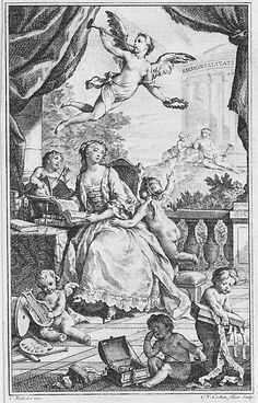 Charles-Nicolas Cochin II, after Charles-Joseph Natoire, Portrait of Madame de Pompadour, c. 1745, Etching