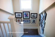 tips for creating a photo wall display