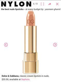 Toned spring lipstick via Lora Alexander