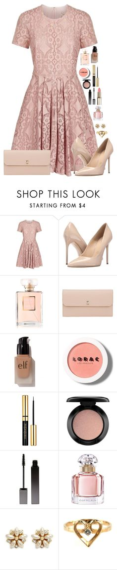 """""""Isn't She Lovely"""" by macapaz ❤ liked on Polyvore featuring Burberry, Massimo Matteo, Chanel, Valextra, e.l.f., LORAC, MAC Cosmetics, Serge Lutens, Guerlain and Miriam Haskell"""