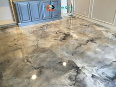 decorative metallic epoxy floor paint modern home flooring designs 2019