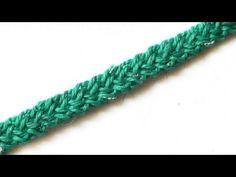 Romanian 3D Lace Урок 49 Объемный шнур гусеничка - YouTube