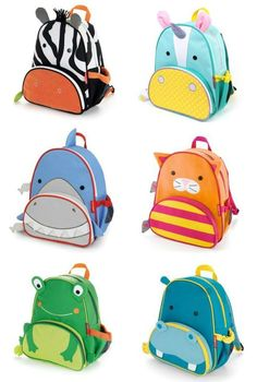 Skip Hop zoo pack backpacks are adorable for preschool, and LOVE the new unicorn! | Back to school 2015
