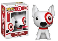 Bullseye (Target's Dog mascot) Pop figure by Funko, Target exclusive