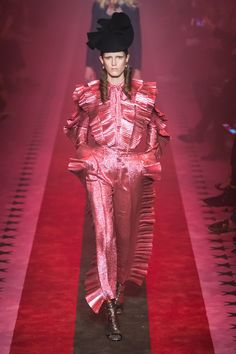 0284db241a1 Gucci Spring RTW Collection AT Milan Fashion Week 2017 The clothes remain  manifestations of rich imagination and craft.