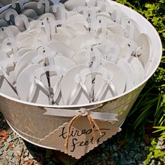 Beach wedding favor idea