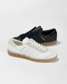 new concept a648d a29d9 adidas Originals Hamburg Leather. tulipeviolette · shoes