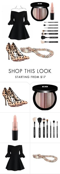 """Untitled #159"" by ysmnfashion ❤ liked on Polyvore featuring Charlotte Olympia, Edward Bess, MAC Cosmetics, Sigma and Chicwish"