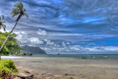 An HDR shot from a beach around Kanehoe on Oahu