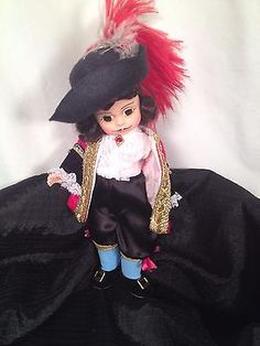 Madame Alexander 8 Inch Captain Hook Doll Storyland Collection #loveit http://bayfeeds.com/ebayitem.php?itemid=331620280581