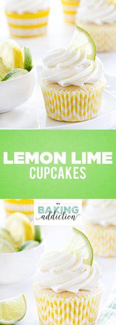 Lemon Lime Cupcakes will satisfy your citrus craving all summer long. Each bite tastes like sunshine!
