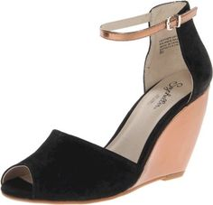 Seychelles Women's Sunlight Wedge Sandal,Black,8 M US (884633678016) Made in China Leather Upper Man Made Sole Heel Height: 3 - 3.75 Inch This Shoe Fits True To Size.