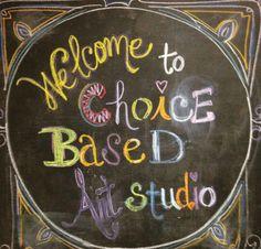 Dawn Lynn's Choice-Based Artroom #CBAE #ArtsEd #ArtEducation