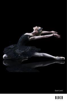 Sarah Lamb as the Black Swan