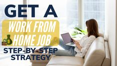 How to get a work from home job in 2020 (my step-by-step strategy). If you've been wanting to work from home and make money online as a stay at home mom or a. Way To Make Money, Make Money Online, How To Get, Job Work, Stay At Home Mom, Work From Home Jobs, Get Started, Remote, Entrepreneur