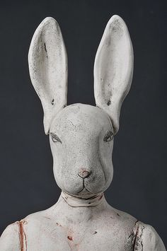 figurative ceramic sculpture | Talk on Art' by Christie Brown at Storey Gallery