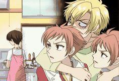 high school host club gifs | really love this anime.
